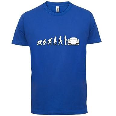 Evolution of Man - 911 Fahrer - Herren T-Shirt - Royalblau - XL