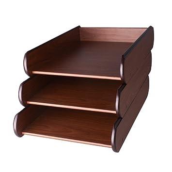 desk office file document paper. YUMU Slideable Wood Desk Organizer File Frame A4/A5 Paper Magazine Document Shelf For Office