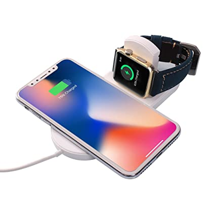 Cargador Inalámbrico Asnlove Quick Wireless Charger Pad ...