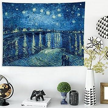 WALLhang Toalla de Playa Dormitorio de los niños tapicería de Noche tapicería Caliente Colgante de Pared