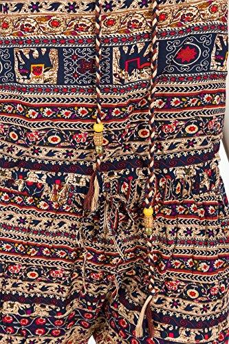 Blau Conos Femme multicolor Pantalon Sarouel qaaSU7v