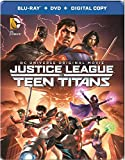 Justice League VS Teen Titans Steelbook (Bluray + DVD + Digital Copy) - English, Spanish, French & German Audio with English, French & German Subtitles