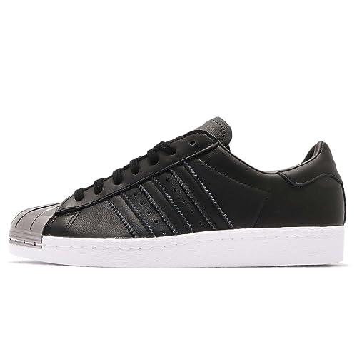 the best attitude 03549 5abda adidas - Zapatillas de Piel para Mujer Negro Negro Amazon.es Zapatos y  complementos