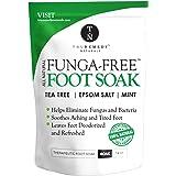Antifungal Tea Tree Oil Foot Soak with Epsom Salts Helps to Treat Athletes Foot, Nail Fungus, Deodorises Foot Odour and…