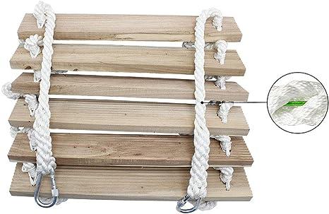 ZXXY Escalera de Cuerda de Escape, Entrenamiento portátil Plegable Escalera de Seguridad de Rescate de Trabajo aéreo de Auto Rescate,3m/9.8ft: Amazon.es: Deportes y aire libre