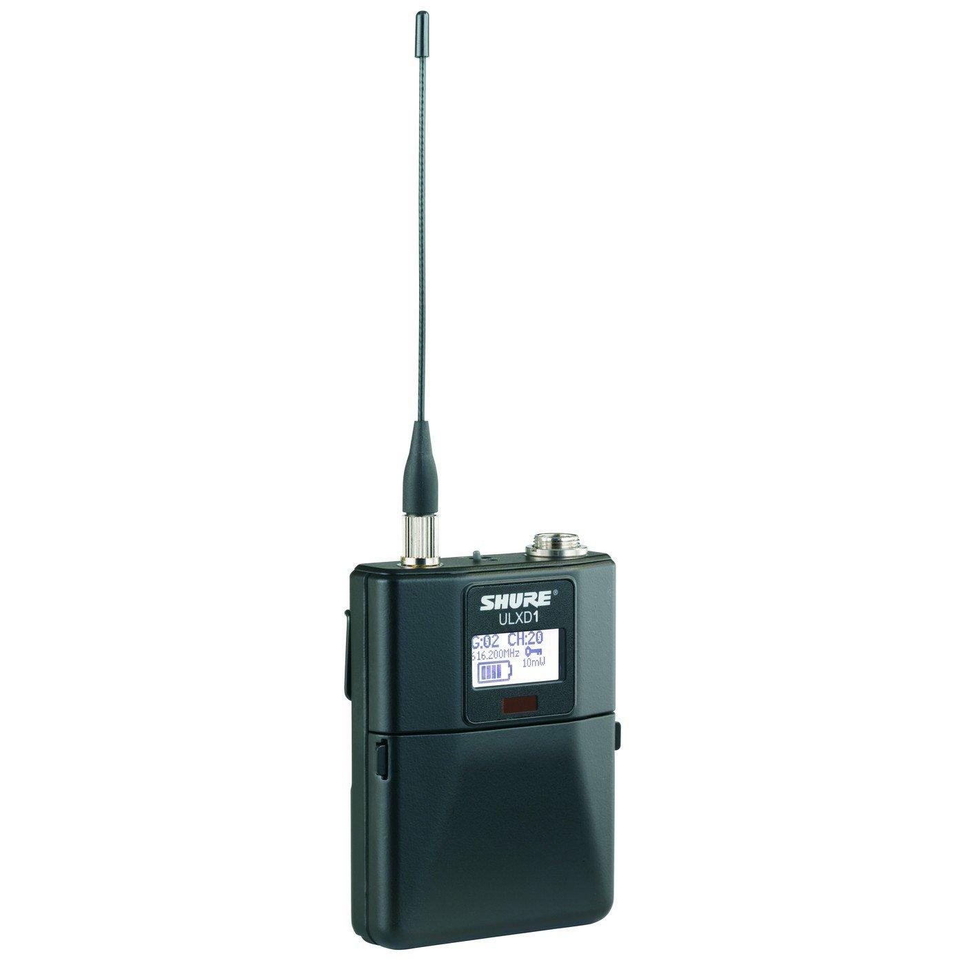 Shure ULXD1 L50 | Digital Wireless Bodypack Transmitter by Shure