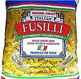 Trader Joe's Authentic Italian Fusili Pasta 100% Durum Semolina - 1 lb (16 oz.)