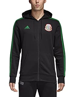 adidas World Cup Soccer Mens Soccer 3 Stripes Full Zip Hoodie