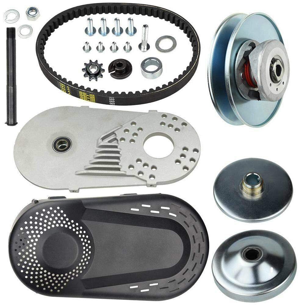 New 30 Series 6.5 HP Go Kart/Mini Bike Torque Converter Clutch Driver Pulley Replacement Comet Manco 212CC 3/4'' Bore Max Torque (Complete 3/4'' Torque Converter Set)
