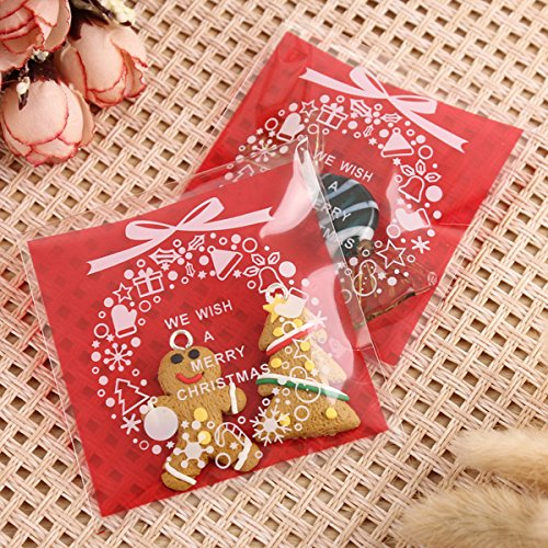 100pc-self-adhesive-christmas-cookie-bags-cellophane-candy-gift-pouch-red-color