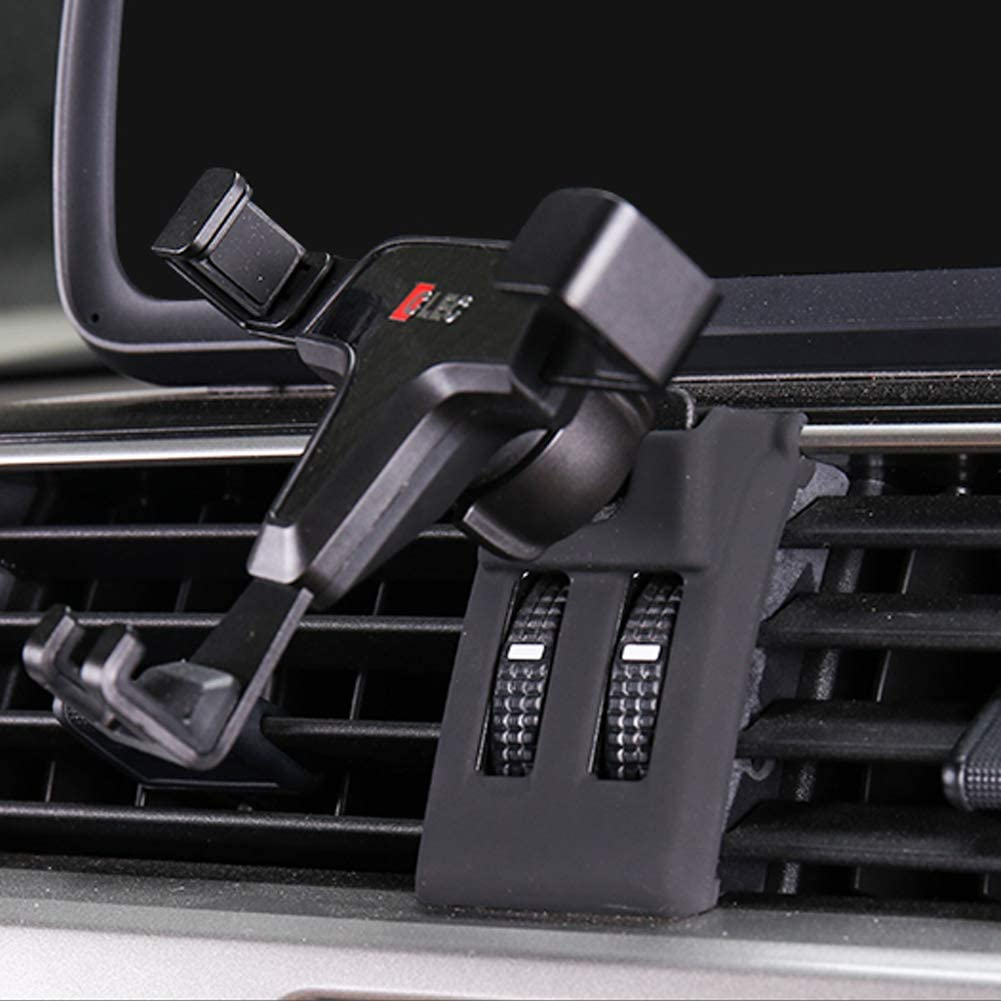 GTINTHEBOX Smartphone Cell Phone Mount Holder with Adjustable Air Vent Clip Cover for 2014 2015 2016 2017 Toyota Land Cruiser Prado FJ150 3.5-6.0 Inches Phone