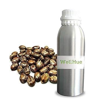 WellHue Aceite Portador De Ricino 5 Ml A 250 Ml: Amazon.es: Salud y cuidado personal