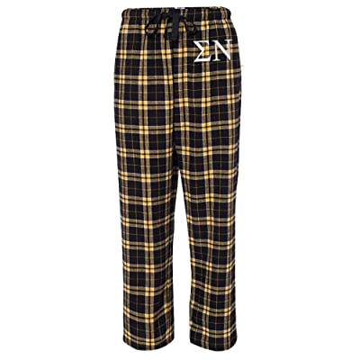 Sigma Nu Flannel Pajama Pants at Men's Clothing store