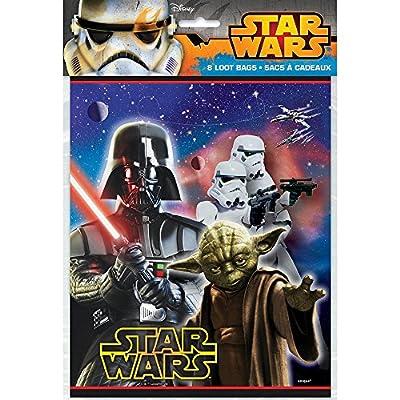Disneys Star Wars - Loot Bags 8 Ct