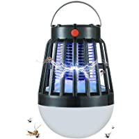Solar Powered Anti Mosquito Killer Lamp Bulb USB Electric LED Outdoor Camping Sleepping Lamps Bug Zapper Insect Trap…
