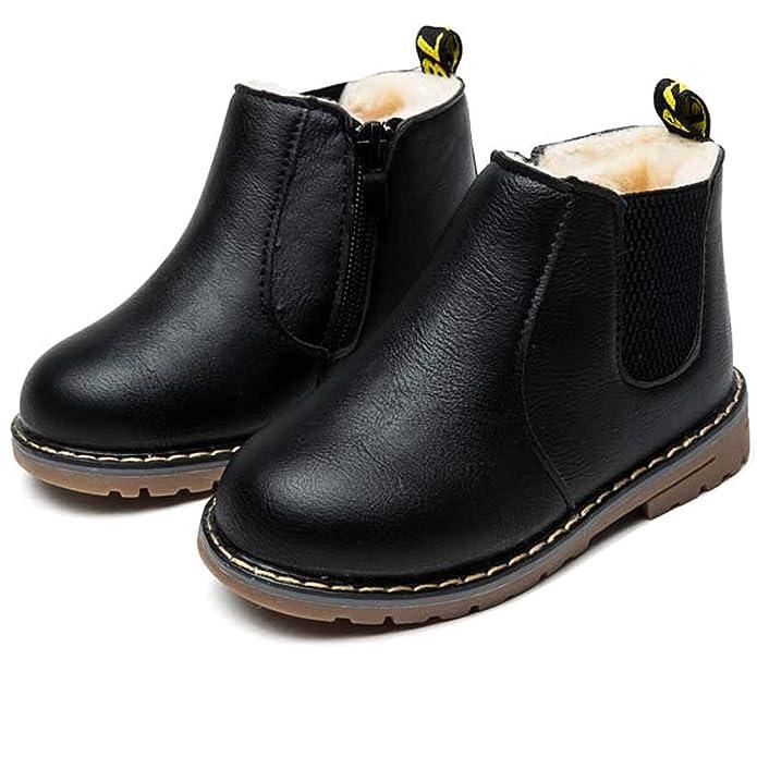 Botas de Nieve Niñas, Niños Bebé Invierno Caliente Zapatos ...