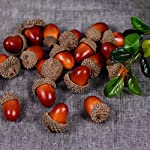TOOGOO-20pcs-3cm-Foam-Pine-Cones-Mini-Artificial-Fake-Foam-Fruit-and-Vegetables-Berries-Flowers-Wedding-Christmas-Tree-DecorationLight-Brown