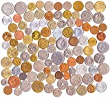 100 Different Foreign Coins Collection Money Set
