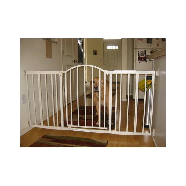 Summer Metal Expansion Gate, 6 Foot Wide Walk Thru, Neutral finish  Indoor Safety Gates  Baby