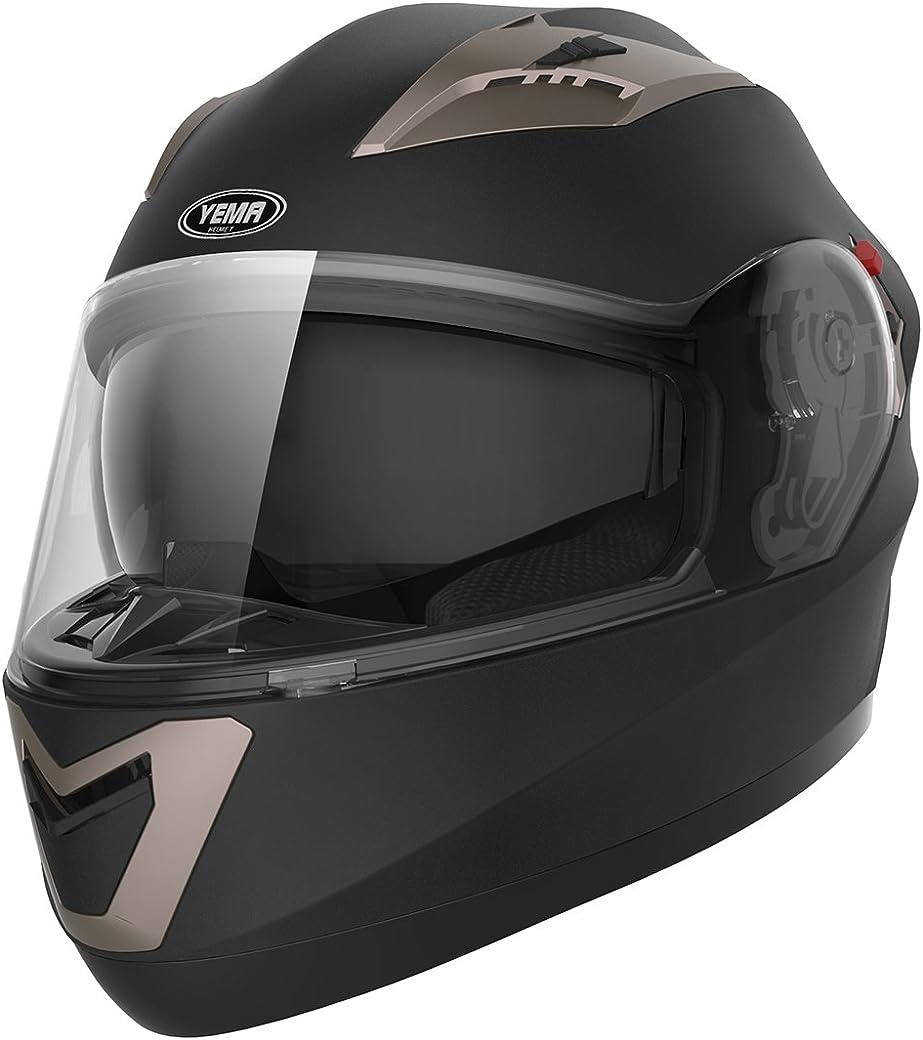 YEMA Helmet YEMA YM-829 Casco Moto Integral