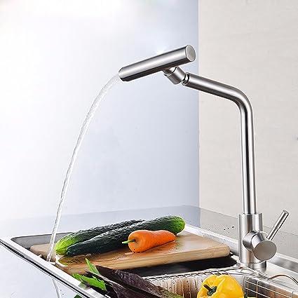 Dayanand - Grifo de cocina con sensor de ondas, alineador de movimiento, sin contacto