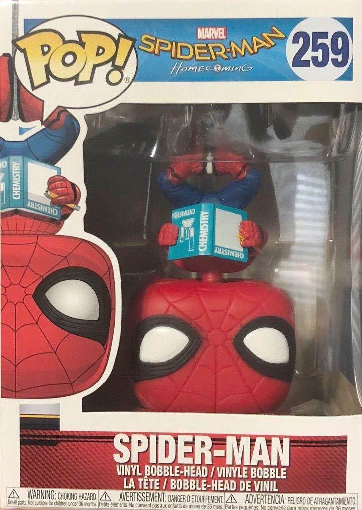 Funko Pop! Marvel - Spider Man: De regreso a casa, de cabeza Exclusivo !!!