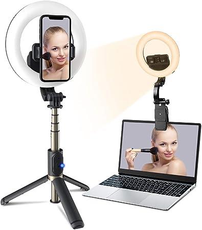 Ringlicht Mit Stativ Panmax 6 3 Zoll Selfie Kamera
