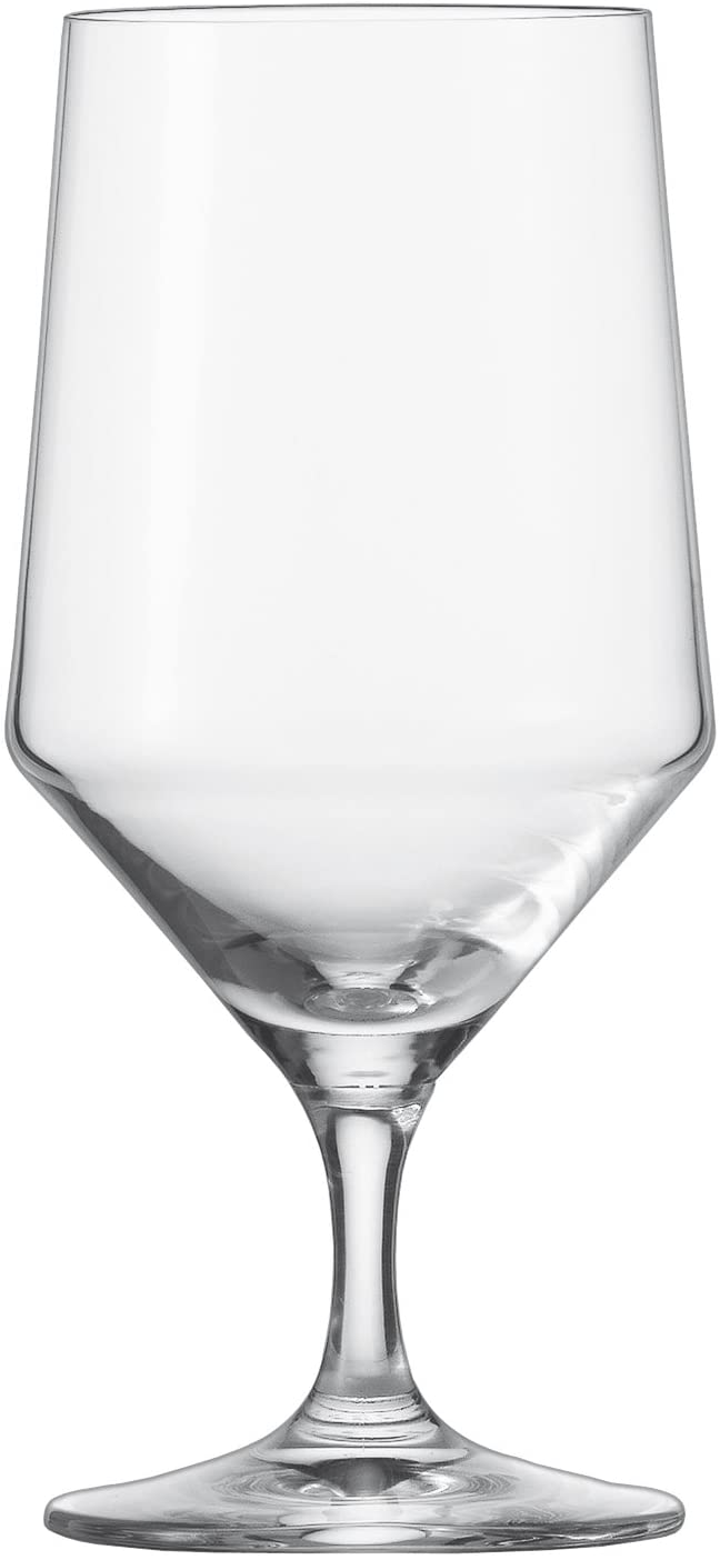 Schott Zwiesel Tritan Crystal Glass Pure Stemware Collection Water Beverage All Purpose Glass 15 3 Ounce Set Of 6 Red Wine Glasses Wine Glasses Amazon Com