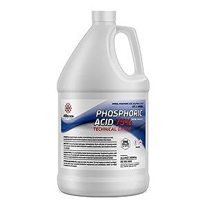 Alliance Chemical Phosphoric Acid 75% - One Gallon - High Purity