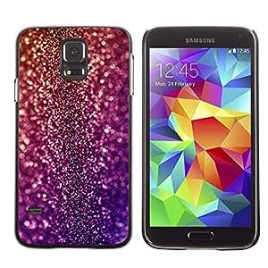 Qstar Arte & diseño plástico duro Fundas Cover Cubre Hard Case Cover para SAMSUNG Galaxy S5 V / i9600 / SM-G900F / SM-G900M / SM-G900A / SM-G900T / SM-G900W8 ( Bling Glitter Disco Design Party Shiny Dress)