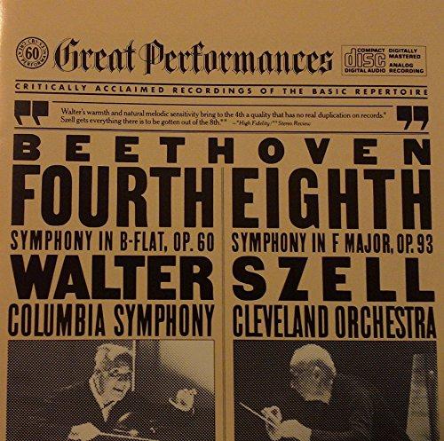 UPC 074643777322, Beethoven: Symphonies 4 & 8 (CBS Great Performances)