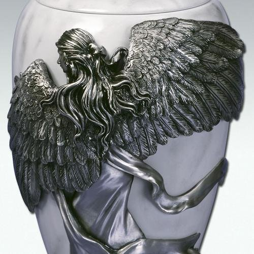 Angelstar Angel's Embrace Pewter Urn, 5-Inch, 8 Cubic Inch (45420) by Angel Star (Image #6)