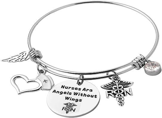 Nurse Graduation Gift Wish Bracelet