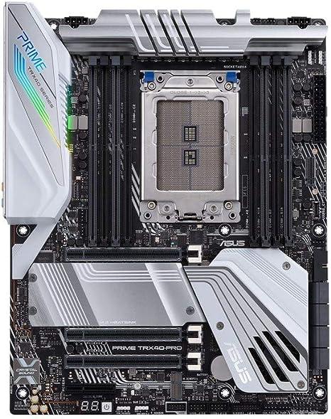 ASUS Prime TRX40-Pro - Placa Base de creación de Contenido AMD sTRX4 3a generación Ryzen Threadripper ATX, 16 etapas de Potencia, PCIe 4.0, 4 Canales ...