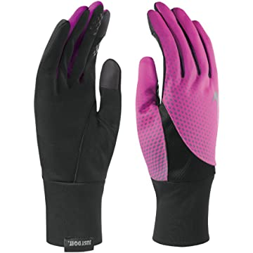 mini Nike Womens Printed Dri-Fit Tailwind Run Gloves