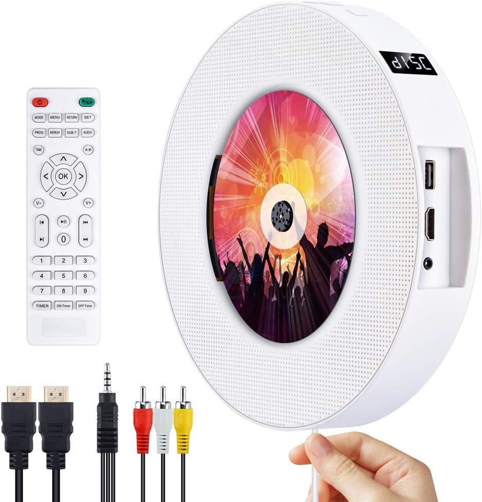 Dvd Cd Bluetooth Player Cd Player Portable Wall Mounted Elektronik