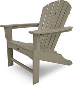 Trex Outdoor Furniture Cape Cod Adirondack Chair, Sand Castle