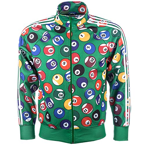 adidas Originals Men's Jeremy Scott Billiard Track Top XS - Jeremy Scott