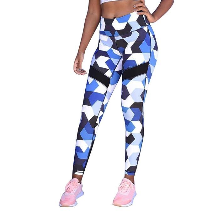 Pantalones Yoga Mujeres, Xinantime Pantalones de Yoga de Cintura Alta para Mujeres Running Fitness Leggings Pants Ropa de Ejercicio