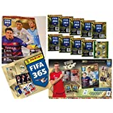 Bundle: Panini FIFA 365: 2016 Official Sticker - Collectors Sticker Starter Kit (Soccer Card Stickers) Album + 20 Packs by Panini