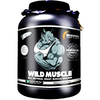 DREXSPORT - Wild Muscle - All Natural Lean Mass Gainer Protein Powder (Whey Proteins + Creatine + Amino) - 2Kg (Chocolate)