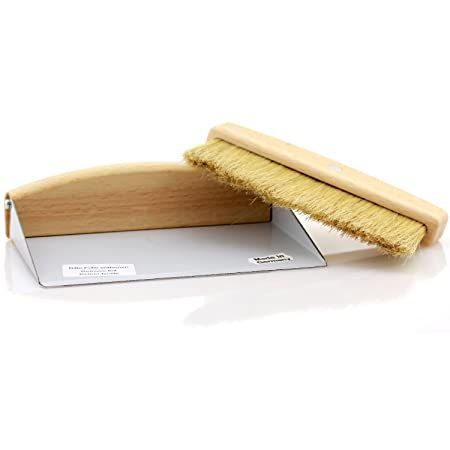 Redecker Table Sweeping Set Hand Brush Dust Pan  sc 1 st  Amazon UK : table brush and pan set - pezcame.com