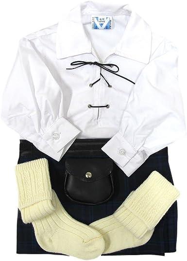 trewscots bebé espíritu de Escocia Outfit – Camiseta de estilo celta, escarcela & Calcetines 0 – 24 meses