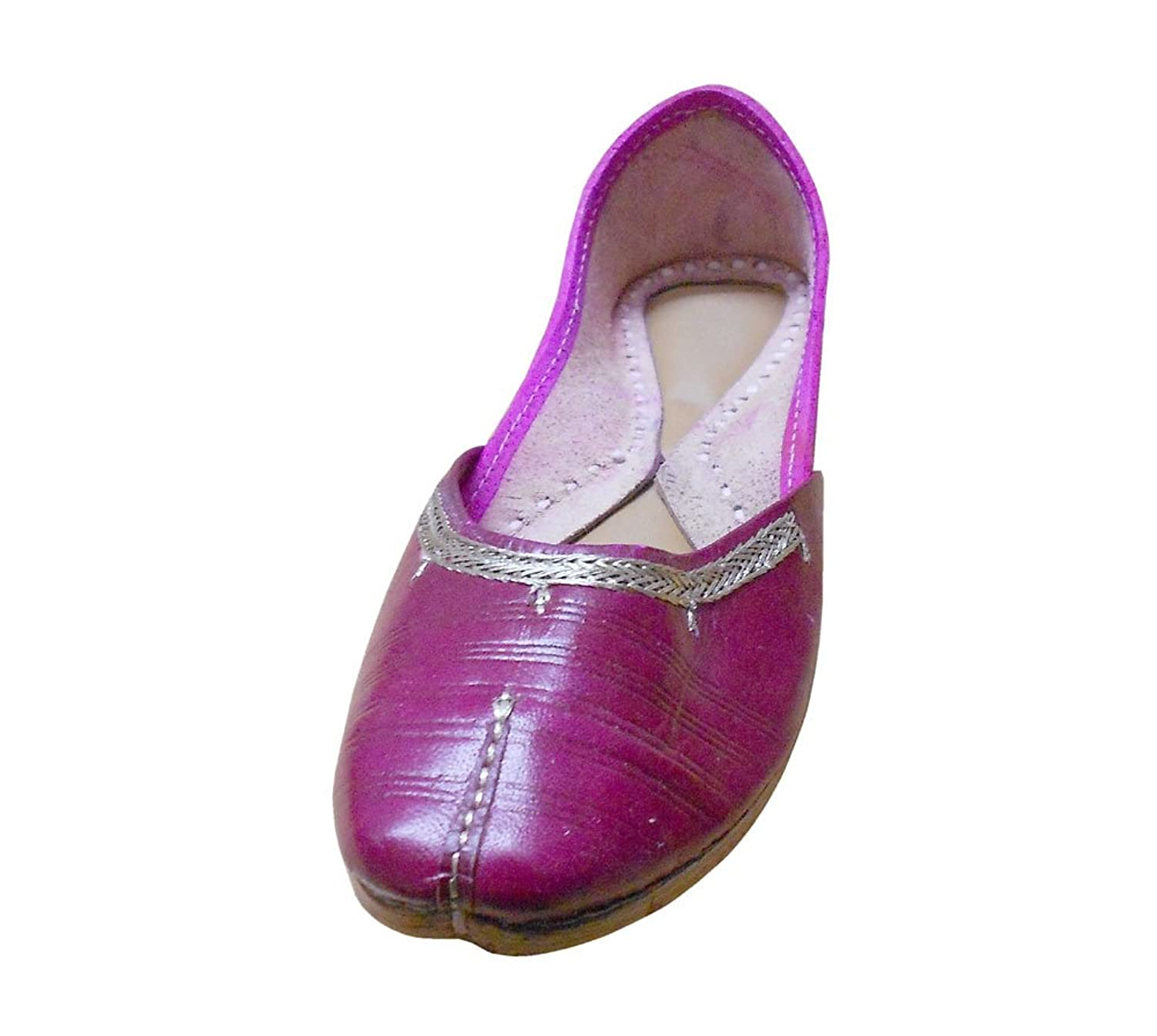 Kalra Creations Women's Traditional Leather Ethnic Shoes
