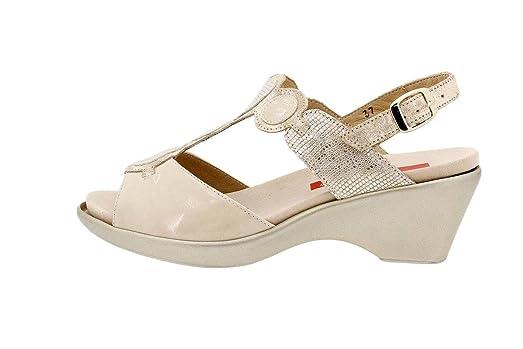Calzado Mujer Confort de Piel Piesanto 6853 Sandalia Plantilla Extraíble Zapato Cómodo Ancho Tienda de venta 2018 Nueva venta en línea Envío gratuito de compras en línea Barato Get Authentic Descuento grande de liquidación YjaIDTio2