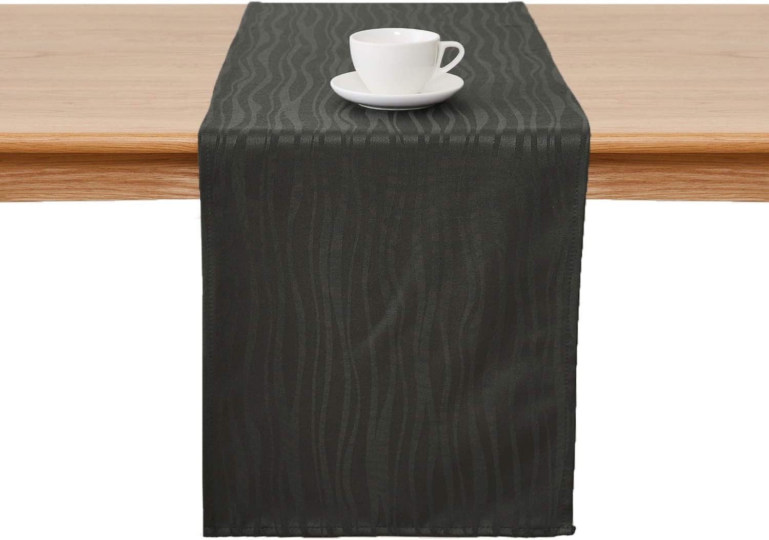 HJCC Table Runner Linen Waterproof Cloth Table Runner Waterproof Non-Slip Washable Decorated Indoor And Outdoor Dining Table