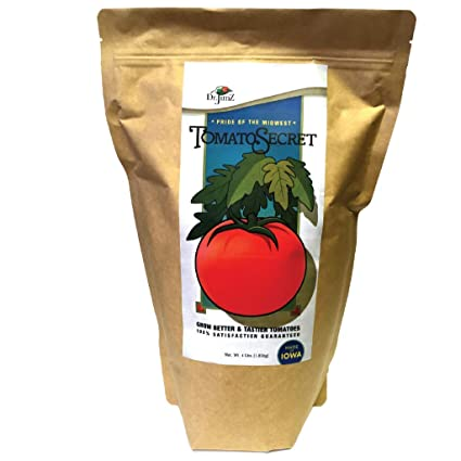Tomato Fertilizer, Tomato Secret 4lbs, All Natural, Loaded with Nutrients,  GMO Free, Best Tasting Tomatoes!