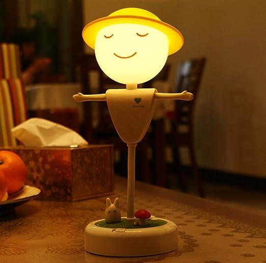 Niños Luz de noche niños flexible Twist espantapájaros LED ...
