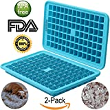 non freezing water bottle - Ice Tray Ice Cube Trays Silicone Ice Tray Mini Ice Tray with BPA free Silicone (Turquoise)