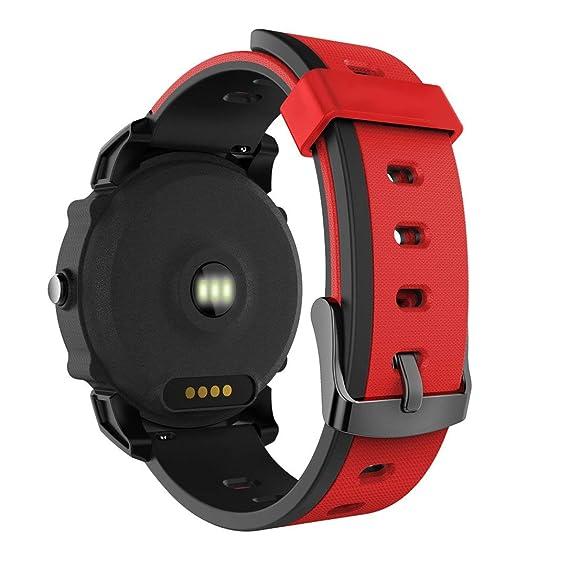 FS08 IP68 Impermeable de Deporte Smartwatch GPS frecuencia ...